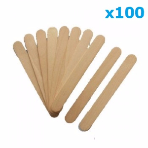 Spatules jetables corps x100