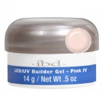 Gel Construction LED/UV Rose IV IBD 14gr