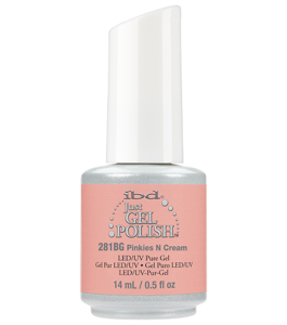"Vernis semi permanent IBD ""pinkies n cream"""