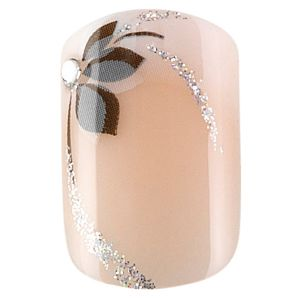 Kit 24 faux ongles mains idyllic nails
