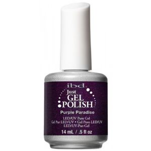 "Vernis semi permanent IBD ""purple paradise"""