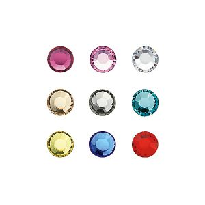 "Strass Swarovski ""multicolore"" 1,9mm x20 Peggy Sage"