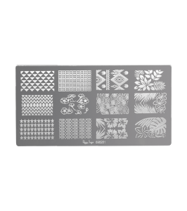 Plaque de stamping nail art