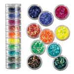 Kit paillettes Glitter mix fluo Peggy Sage
